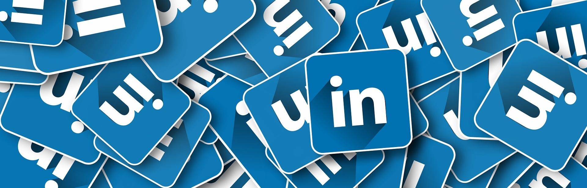 Logos do Linkedin